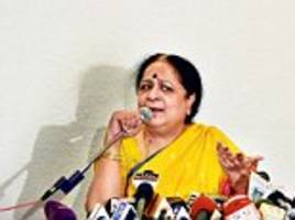 Former environment minister Jayanthi Natarajan sensationally quits Congress and says Rahul's office planted stories against her
